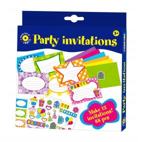 Playbox Kreatív szett - meghívókártyák