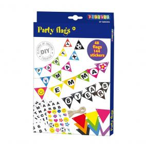 Playbox Kreatív szett - party zászló