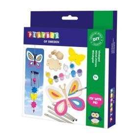 Playbox Kreatív szett - szélcsengő pillangók és virágok