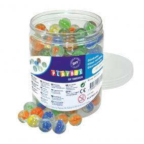 Playbox Üveggolyók 16 mm, 150 db