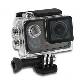 Qoltec Vízálló Sport kamera 4K LCD 2