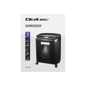QOLTEC Shredder AGUDO konfetti 13L