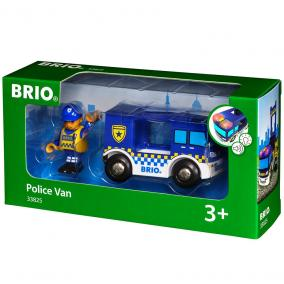 Rendőr teherautó 33825 Brio