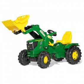 Rolly FarmTrac John Deere 6210R pedálos markolós traktor