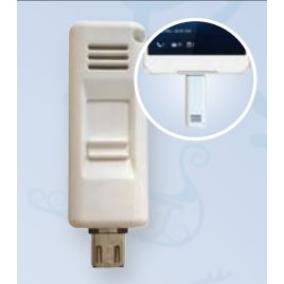 Alkohol / rossz lehelet detektor (mobilhoz micro usb)
