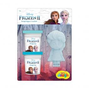 Sambro Jégvarázs 2 karakter formázó 2 tégely gyurmával - Elsa