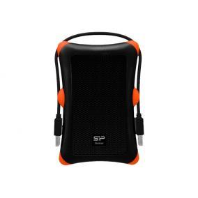 SILICONPOW SP000HSPHDA30S3K Silicon Power External 2,5 HDD case A30 SATA, USB 3.0, Anti-Shock, Black