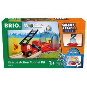 Smart Tech Sound Tűzoltó alagút 33976 Brio