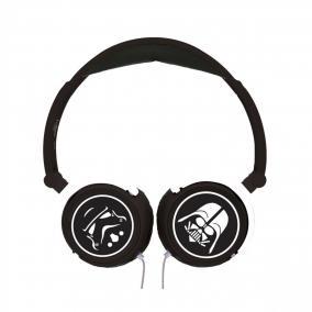 Star Wars sztereó vezetékes összecsukható fejhallgató biztonságos hangerővel