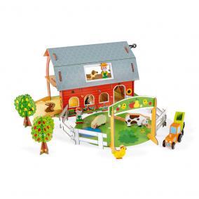 Story állatok a farmon kis szett  08577 Janod