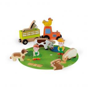 Story állatok a farmon szett 08576 Janod
