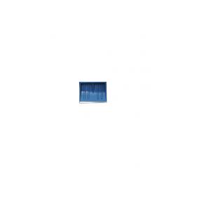 STR műanyag hólapát, nyél nélkül  fém élvédős 43,5 cm