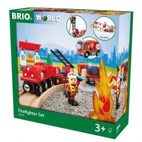 Sürgősségi tűzoltó szett 33815 Brio