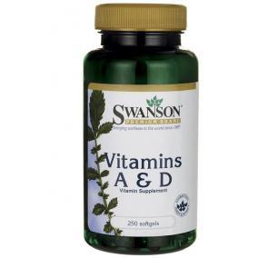 Swanson a és d vitamin kapszula [250 db]