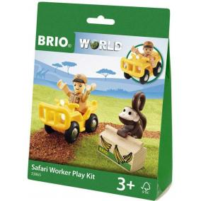 Szafari dolgozó játszószett 33865 Brio