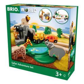 Szafari kaland játékszett Brio