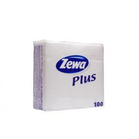 Szalvéta,  [ZEWA], fehér, 100 darab-os