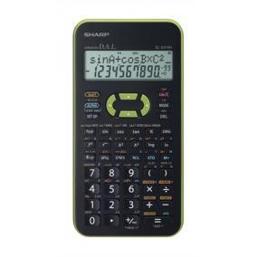 Számológép, tudományos, 272 funkció, [SHARP] zöld