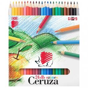 Színes ceruza 24/ktl ICO Süni
