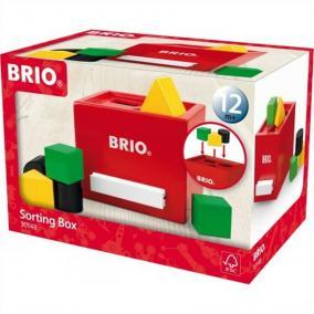 Szortírozós kocka piros 30148 Brio