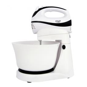 Tálas mixer, Adler AD4206, 300 W, fehér