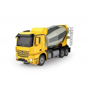 Távirányítós Mercedes-Benz Arocs betonkeverő fénnyel 1:24 405213 Jamara