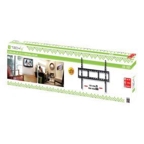Techly 022649 fali tartó TV LCD/LED/PDP 42-80 60 kg VESA vékony, fekete