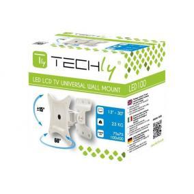 Techly 023868 fali tartó TV LCD/LED/PDP számára 13-30 23 kg VESA állítható, fehér