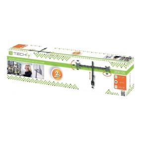 Techly 027514 dupla asztali kar LED/LCD 13-27 2x10kg állítható
