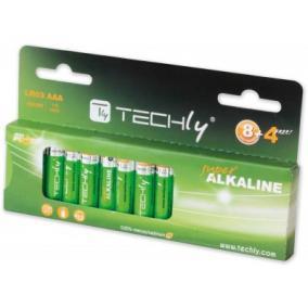 Techly LR03 Alkaline AAA mini ceruzaelem (12db/csomag)
