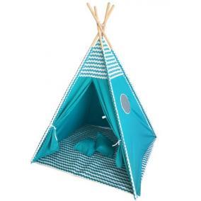 TEEPEE kék égbolt mintájú sátor