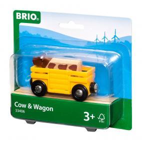 Tehénszállító vagon  33406 Brio