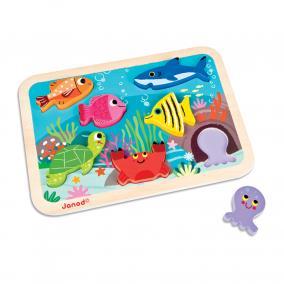 Tenger 3 D puzzle 07056 Janod