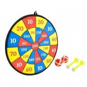 Tépőzáras datrs táble 2 golyóval és 2 nyíllal