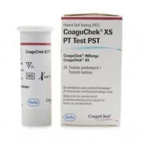 Tesztcsík CoaguChek INRange XS PT PST 24 db