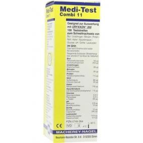 Tesztcsík Medi-Test Combi 11/100