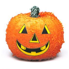 Tök Alakú Party Pinata Játék Halloweenre