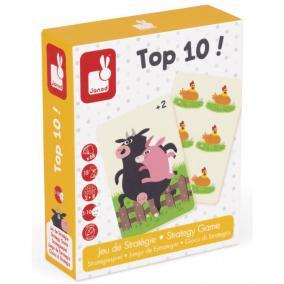 TOP10 számolós - stratégiai játék Janod