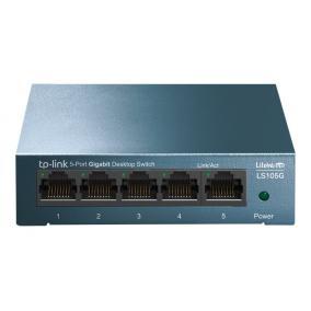 TP-LINK LS105G TP-Link LiteWave LS105G Switch 5x10/100/1000Mbps kovovy desktop