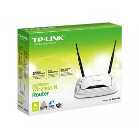 TP-LINK TL-WR841N TP-Link TL-WR841N Wireless 802.11n/300Mbps 2T2R router 4xLAN 1xWAN Atheros