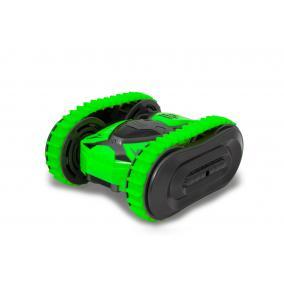 Trans Mover 2in1ben távirányítós kaszkadőr kisautó 1:24, zöld 410141 Jamara