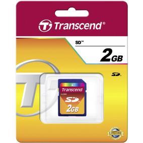 Transcend TS2GSDC 2GB SD memóriakártya