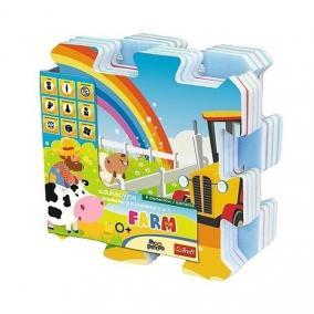 Trefl Habszivacs szőnyeg puzzle - Farm móka