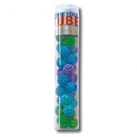 Tube 34 Nodes Green/Blue