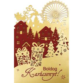 Üdvözlőlap- karácsonyi