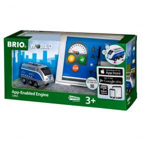 Újratölthető mozdony mini USB kábellel 33863 Brio