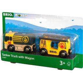 Üzemanyagszállító jármű vagonnal Brio