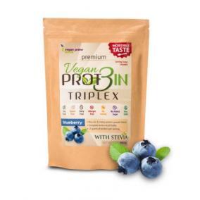 Vegan prot3in triplex fehérje áfonyás 550 g