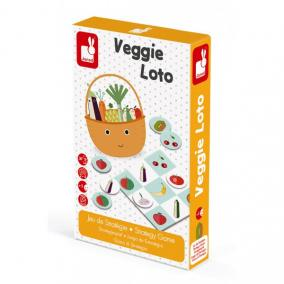 Veggie loto számolós - stratégiai játék Janod