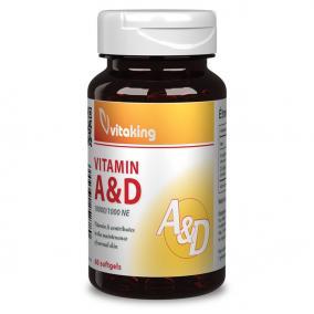 Vitaking A-D vitamin kapszula [60 db]
